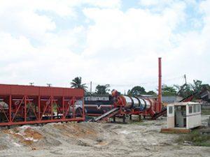 mobile asphalt drum mix plant supplier