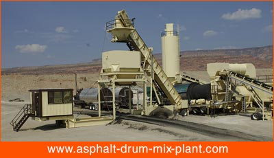 portable asphalt plant exporter in korea