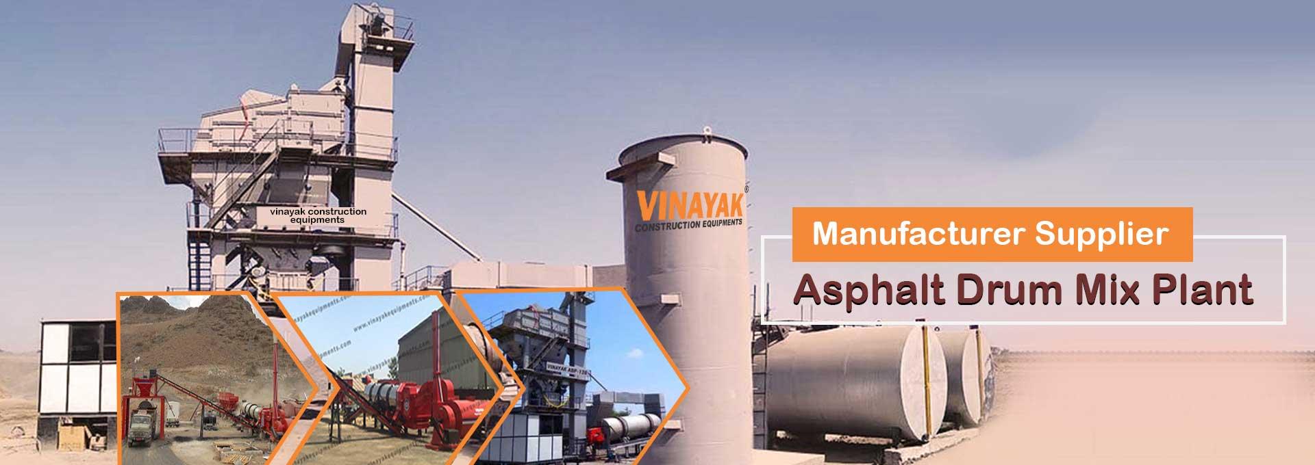 Asphalt Drum Mix Plant manufacturer, exporter from ahmedabad india