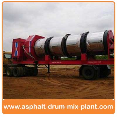Mobile Asphalt drum mix plant manufacturers India